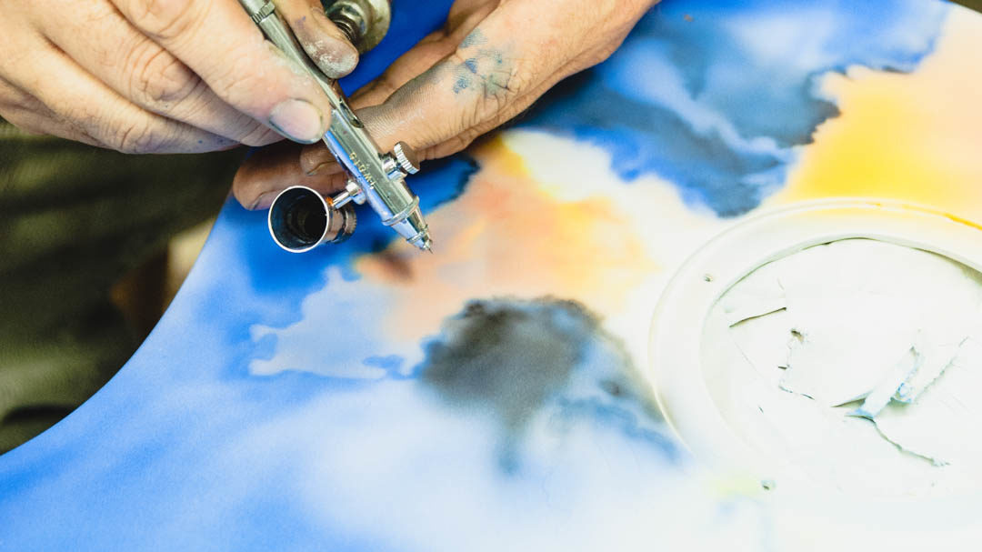 How the airbrush became my artist tool of choice