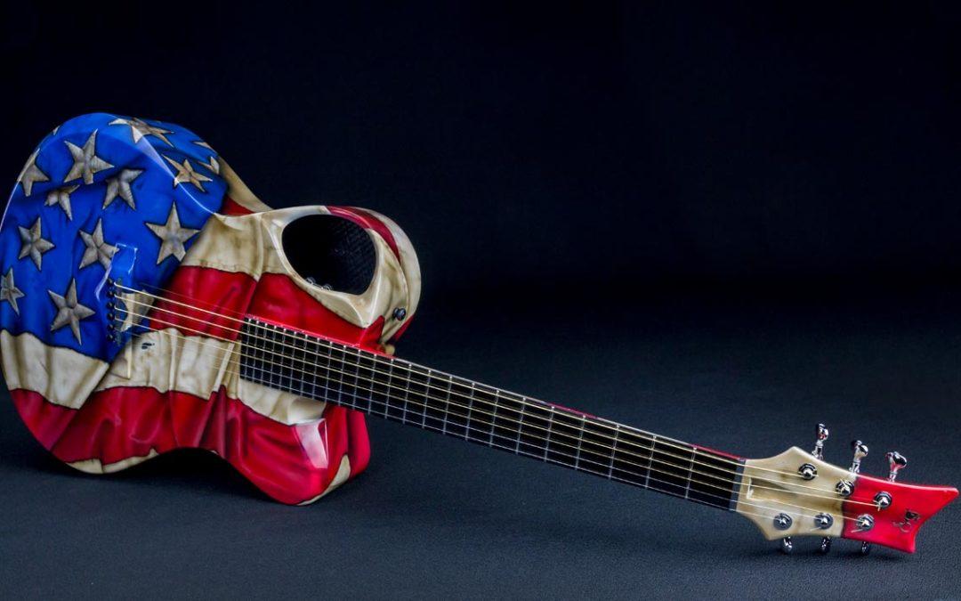 Custom Guitar for Country Artist, Muscian Robert Mizzell