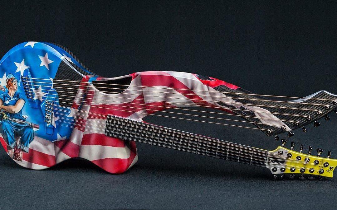 Rosie The Riveter Guitar for Mr John Veld