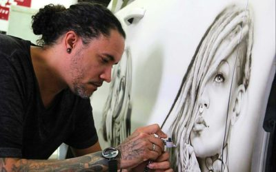 Airbrushing Workshop with Cory Saint Clair